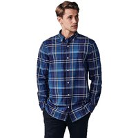Crew Ashworth Shirt Bright Navy/Indigo/White XXL