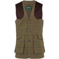 Alan Paine Mens Axford Waistcoat Basil Medium