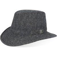 Tilley Unisex TW2HT Harris Tweed Hat Charcoal 7 3/4