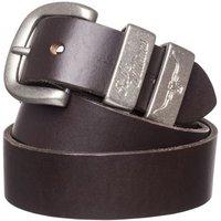 R.M. Williams Mens 3 Piece Buckle Work Belt Chestnut 38