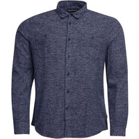 Barbour Cabin Shirt Navy Small
