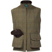 Alan Paine Mens Rutland Waistcoat Dark Moss Large