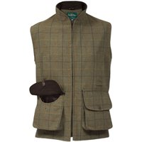 Alan Paine Mens Rutland Waistcoat Dark Moss Medium