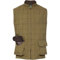 Alan Paine Mens Rutland Waistcoat Lichen Medium