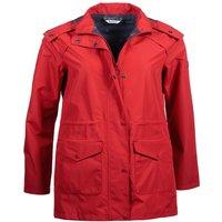 Barbour Deepsea Jacket Brick Red 16
