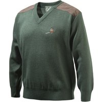 Beretta Mens Pheasant V Neck Sweater Green Small