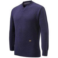 Beretta V Neck Wool Sweater Prune Medium