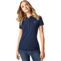 Crew Clothing Womens Classic Polo Navy 10