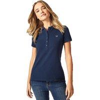 Crew Clothing Ladies Classic Polo Shirt Navy 14