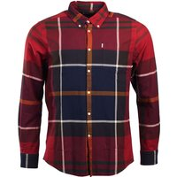 Barbour Dunoon Shirt Red XL