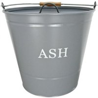 Manor Fireside Ash Bucket (With Lid) Grey Large