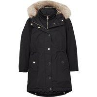 Joules Kempton Parka Coat True Black 14