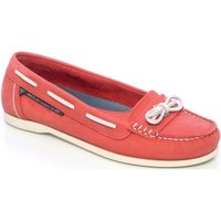 Dubarry Fiji Ladies Deck Shoes Red 4 (EU37)