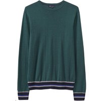 Crew Clothing Beane Crew Neck Jumper Racing Green XL