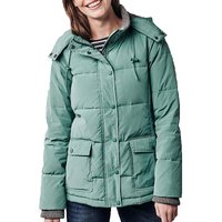 Crew Clothing Womens Quilted Jacket Green 12