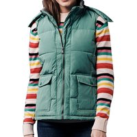 Crew Clothing Quilted Gilet Green 16