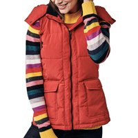 Crew Quilted Gilet Red 16