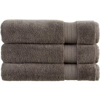 Christy Tempo Combed Cotton Towels Granite Bath Sheet