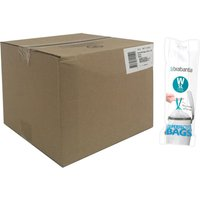 Brabantia Bin Liners Boxed Dozen Deal Packs 120 240 Bags  5L W Teal