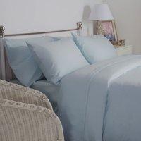 Belledorm Best Ever Brushed Cotton Sheet Blue Superking