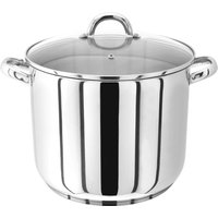 Judge Stainless Steel Stockpot With Glass Lid  28cm