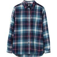 Joules Lorena Longline Brushed Shirt  12