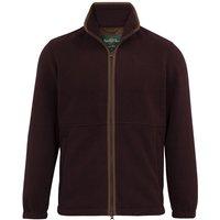 Alan Paine Mens Aylsham Fleece Jacket Grape XXL