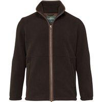 Alan Paine Mens Aylsham Fleece Jacket Peat Small