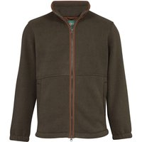 Alan Paine Mens Aylsham Fleece Jacket Green Large