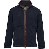 Alan Paine Mens Aylsham Fleece Jacket Dark Navy Small