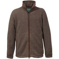 Alan Paine Mens Aylsham Fleece Jacket Brown Medium