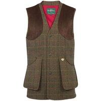 Alan Paine Mens Combrook Waistcoat Peat 4XL