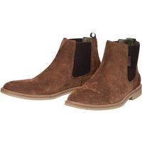 Barbour Atacama Chelsea Boots Dark Sand / suede 10