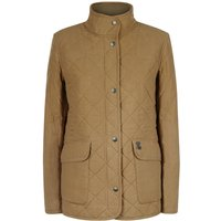 Le Chameau Country Quilted Jacket Fawn 10