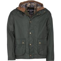 Barbour Lightweight Campbell Wax Jacket Lt Forest Medium