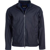 Barbour Mens Ender Wax Jacket Royal Navy Large