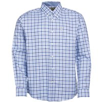 Barbour Abberton Shirt Blue Medium