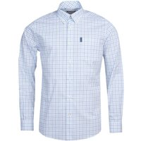 Barbour Tattersall 16 Tailored Shirt Green XL