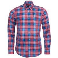 Barbour Highland Check 26 Tailored Shirt Red Large