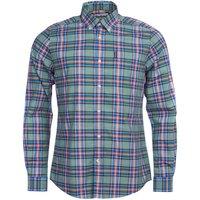 Barbour Mens Highland Check 26 Tailored Shirt Green XXL