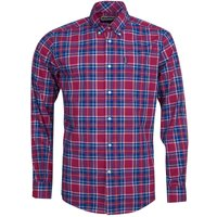 Barbour Highland Check 27 Tailored Shirt Red XXL