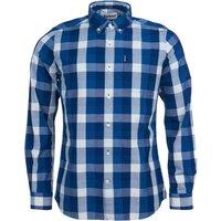 Barbour Mens Indigo 9 Tailored Shirt Indigo XXL