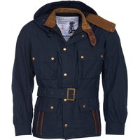 Barbour Mens Ursula Casual Jacket Navy Medium