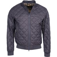 Barbour Mens Gabble Quilted Jacket Charcoal Large