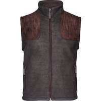 Seeland William II Fleece Waistcoat Moose Brown Medium