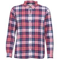 Barbour Haley Shirt Tayberry/Lupin Check 10