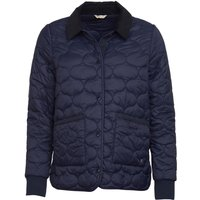 Barbour Womens Hallie Quilted Jacket Navy 16