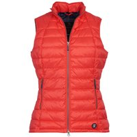 Barbour Womens Deerness Gilet Coral/Coral 14