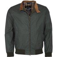 Barbour Mens Lightweight Royston Wax Jacket Lt Forest XXL