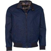 Barbour Mens Lightweight Royston Wax Jacket Indigo XL